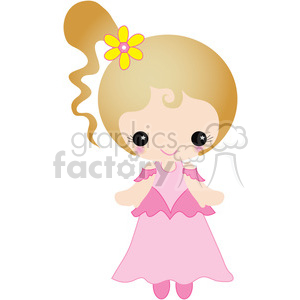 Simple Girl 01 clipart. Royalty-free image # 391617