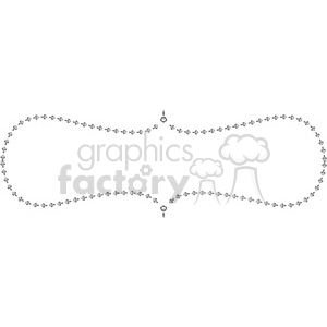 heart frame swirls boutique design border 8 clipart. Royalty-free image # 392449