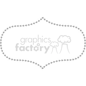 heart frame swirls boutique design border 16 clipart. Royalty-free image # 392478
