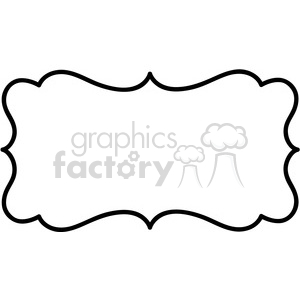 lines frame swirls boutique sign design border vector clipart. Royalty-free image # 392564
