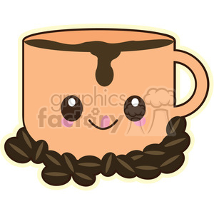 Coffee cup clipart. Royalty-free image # 393448