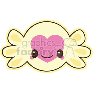 candy cartoon character clipart. Royalty-free image # 393478