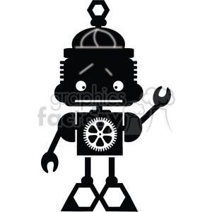 Robot Boy 03 clipart. Commercial use image # 394079