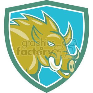 razorback ready charge hog clipart. Commercial use image # 394350