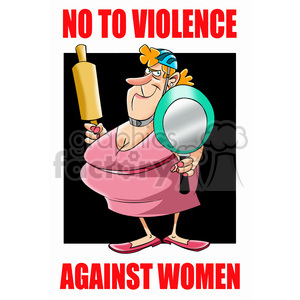 cartoon stop violence women domestic woman female
