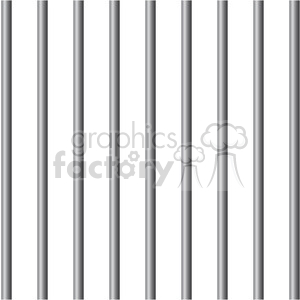 prison jail bars clipart. Commercial use image # 394806
