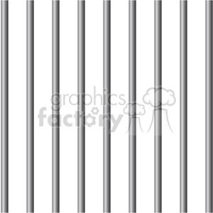 royalty free prison jail bars 394806 vector clip art image eps svg ai pdf illustration. Black Bedroom Furniture Sets. Home Design Ideas