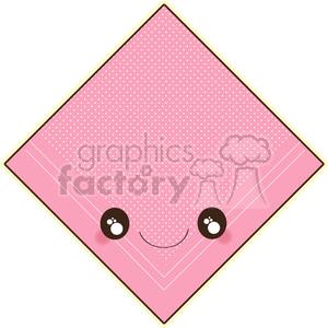 Handkerchief cartoon character vector clip art image clipart. Royalty-free image # 395019