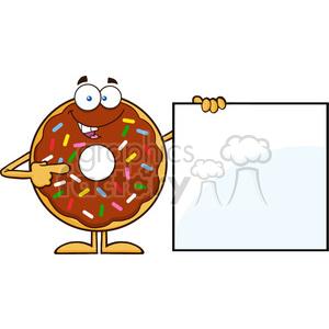 cartoon mascot mascots characters funny doughnut doughnuts