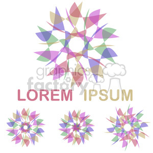logo template design 006 clipart. Royalty-free image # 397173
