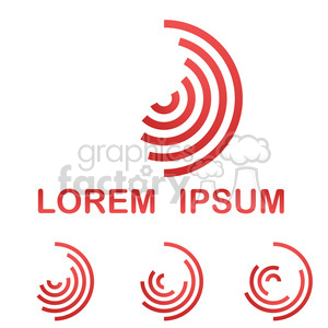 logo template circle 004 clipart. Royalty-free image # 397183