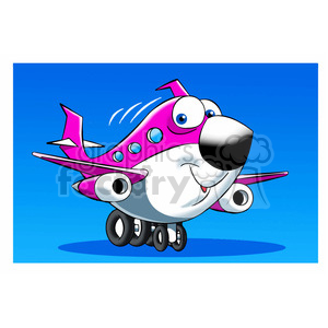 commercial airline vector image happy skyler clipart. Royalty-free image # 397857