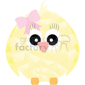Girl Chick clipart. Commercial use image # 397945