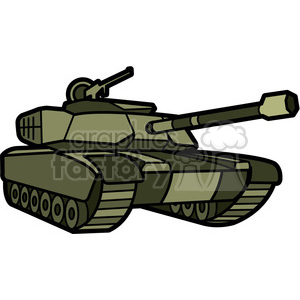 military tank clipart. Royalty-free image # 398005