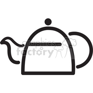 tea pot icon clipart. Royalty-free image # 398310