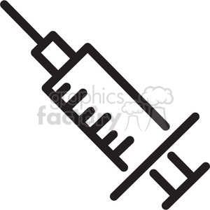 hypodermic needle icon clipart. Commercial use image # 398330