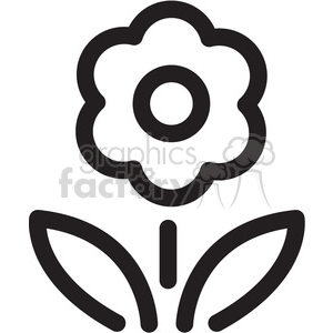 flower icon clipart. Royalty-free icon # 398400