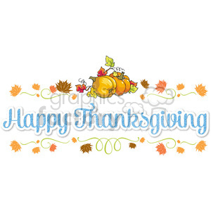happy thanksgiving clipart. Royalty-free image # 400478