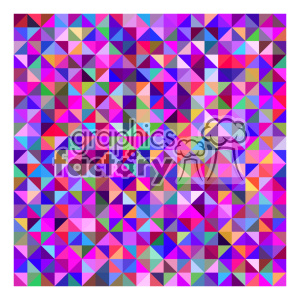 vector color pattern design 128 clipart. Royalty-free image # 401696