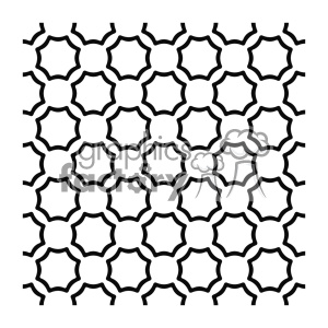 vector shape pattern design 742 clipart. Royalty-free image # 401716