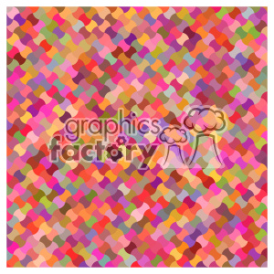 vector color pattern design 115 clipart. Royalty-free image # 401826