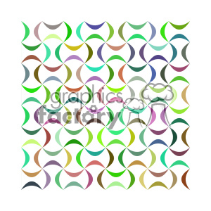 vector color pattern design 150 clipart. Royalty-free image # 401861