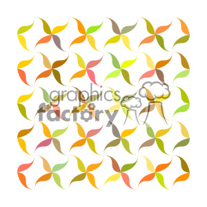 vector color pattern design 144 clipart. Royalty-free image # 401876