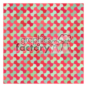 vector color pattern design 106 clipart. Royalty-free image # 401886