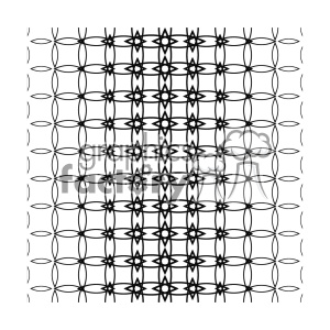 vector shape pattern design 749 clipart. Royalty-free image # 401896