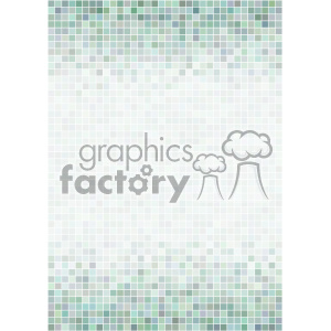 green pixel pattern vector flyer background template