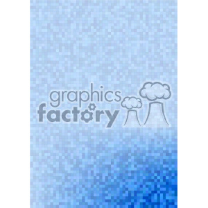 blue gradient pixel pattern vector brochure letterhead bottom corner background template clipart. Royalty-free image # 402136