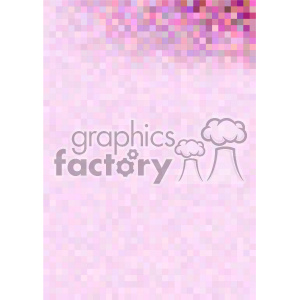 pink gradient pixel pattern vector top right background template clipart. Royalty-free image # 402151