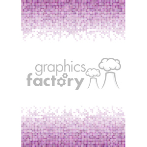 purple pixel pattern vector top bottom background template