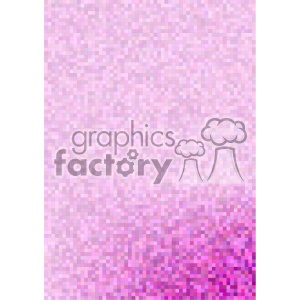 shades of purple pixel pattern vector brochure letterhead bottom corner background template clipart. Royalty-free image # 402176