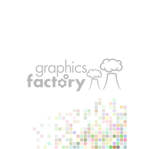 shades of pastel pixel vector brochure letterhead document background bottom right template