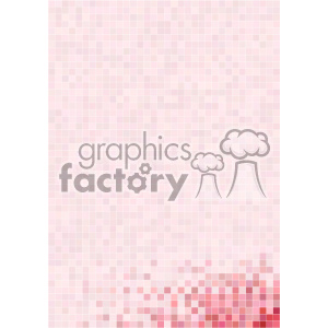 pink pixel pattern vector bottom right background template clipart. Royalty-free image # 402216