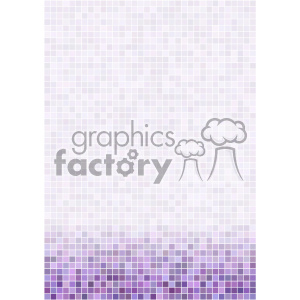 purple ditigal pixel pattern vector bottom background template clipart. Royalty-free image # 402236