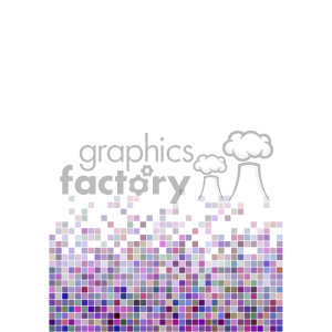 shades of purple pixel vector brochure letterhead document background bottom template clipart. Royalty-free image # 402261