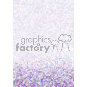 shades of purple geometric pattern vector brochure letterhead bottom background template