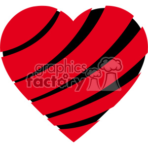 sliced heart svg cut files vector valentines die cuts clip art clipart. Royalty-free image # 402311