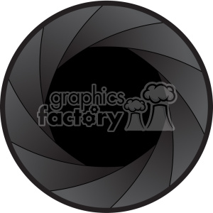 vector shutter icon graphic clipart. Royalty-free image # 402369