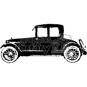 old vintage distressed coupe car retro vector design vintage 1900 vector art GF clipart. Royalty-free image # 402469