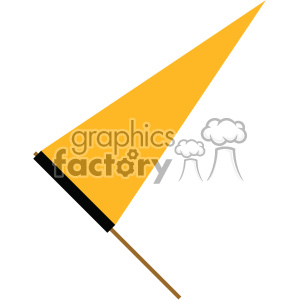 sports flag pennant clipart. Commercial use image # 403041