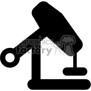 oil pump vector icon