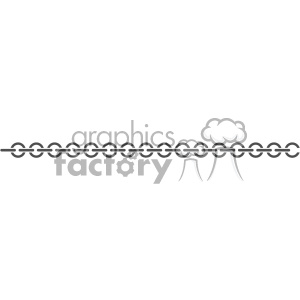 chain link vector clipart. Royalty-free image # 403242