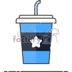 Soda cup vector clip art images clipart. Royalty-free image # 403837