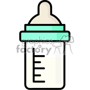 Milk bottle vector clip art images clipart. Commercial use image # 403849