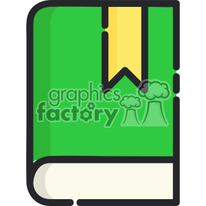 Book clip art vector images clipart. Royalty-free image # 403875