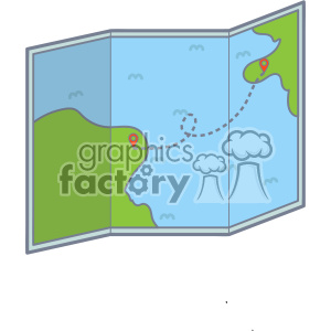 Map vector clip art images clipart. Royalty-free image # 403879