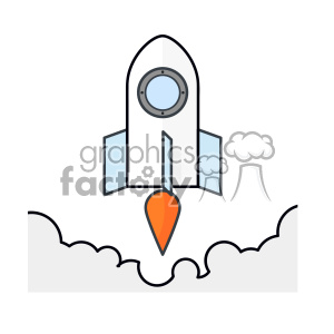 Rocket vector clip art images clipart. Royalty-free image # 403930